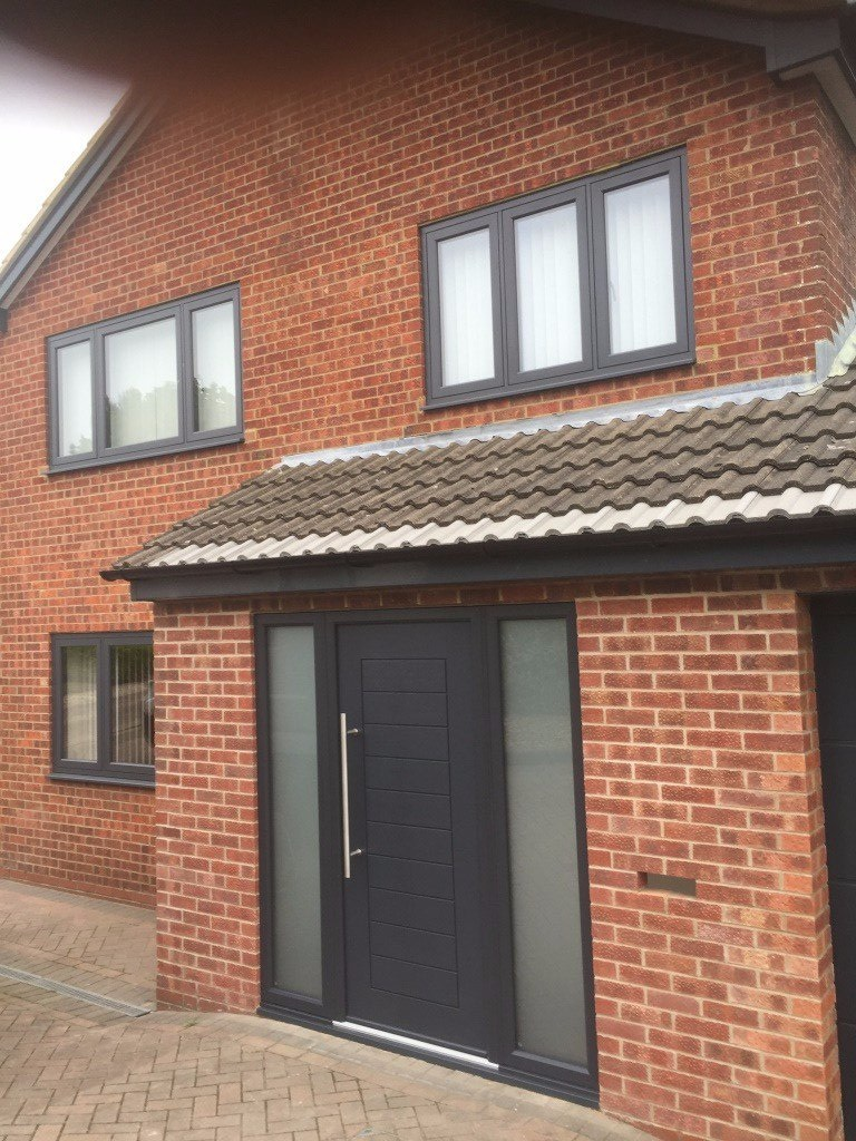 eclectic grey r9 anthracite grey solidor