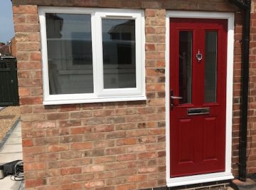 kommerling window and solidor installation in Rugby